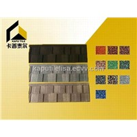 Shingle metal roofing tile