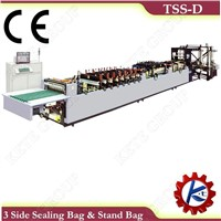 Three Side Sealing & Stand Bag Making Machine (TSS-D)