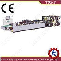 Double Zipper Bag Making Machine (TSS-F Series)