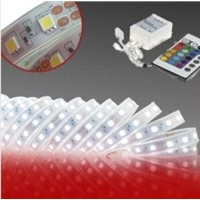 Waterproof 60pcs / Meter Strip Lamp