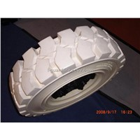 White Non-Marking Solid Tire (650-10)
