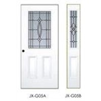 big and small glass door,metal door with glass