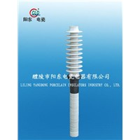 porcelain bushing of electrical insulator