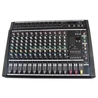 Professional 12 Channels Powered Mixer Console