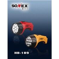 Rechargeable LED Flashlight (HB-189)
