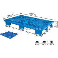 square space plastic pallet