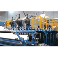3 Layer Cast Film / Stretch Wrap Film Extrusion Machine