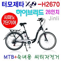 Termozeta Electric U Fram City Bike (X2O-H2670B)