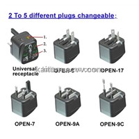 Nano Universal Travel Adapter