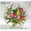 2011 fashion style dinner ware/table ware/home decoration/glassware/glass crafts HOT sales