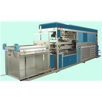 Automatic high-speed vacuum plastic machine