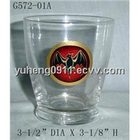 2011 fashion style cup/glass cup/home decoration/glassware/glass crafts HOT sales