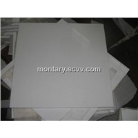 White Crystallized Glass Tile