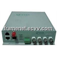 4 Channels Digital Video Optical Transmitter