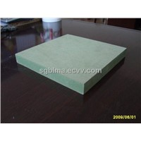 Green MDF Board Raw MDF Plain MDF