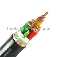 0.61KV Flexible Copper Wire Conductor XLPE Insulation PVC Sheath Power Cable