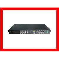 16 channels fiber video multiplexer:FOV-16
