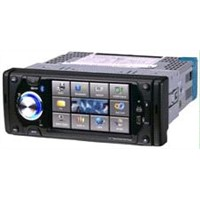 "1 din  4.3"" digital TFT LCD display car dvd player with USB/SD/TV system(4302)"