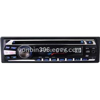 1 din Auto unfolding Detachable panel  car dvd player with 3 channel RCA output---9003