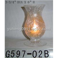 2011 fashion style candle holder/glass candle holder/home decoration/glassware/glass crafts HOT sale