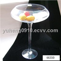 2011fashion style candle holder/glass candle holder/home decoration/glassware/glass crafts HOT sales
