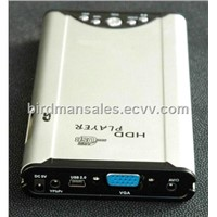 "2.5""Portable HDD Media Player"