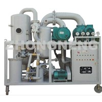 2-stage highly vacuum transformer oil regeneration purifier/oil filtering plant