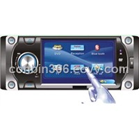 "4.3"" Wide screen Touch Screen TFT Displaycar dvd player with USB/TV/MP3/AM/FM ---43001"