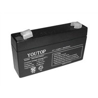 6V1.3Ah lead acid battery