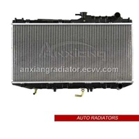 Aluminum brazing auto radiators for Toyota Camry