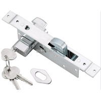 Aluminum door lock