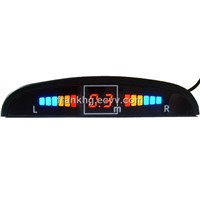 Car parking sensor with 4 sensor LED display