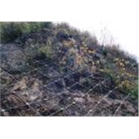 Chain Link Fence for Hillside