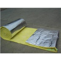 Glass wool with foil