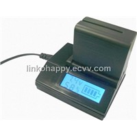 LCD Camera Battery Quick Charger