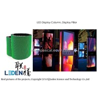 LED outdoor display column