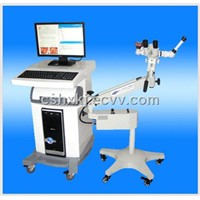 Optic electronic colposcope equipment