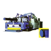 PE / PVC Twin-Wall Corrugated Pipe Production Line