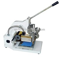 PVC Card Gilding Press Machine