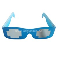 Paper Circular Polarized 3D Glasses