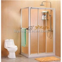 Rectangular sliding simple shower room