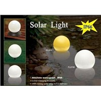Solar Christmas Fountain Light