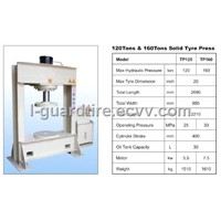 Solid Tire Press Machine / Heat Press Machine (TP120)