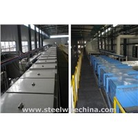 Tempering tin bronze-plated bead wire production line / Tyre bead wire production line