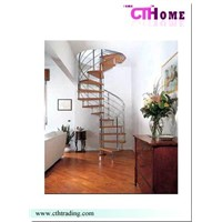Wood Steel Stairs