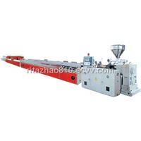 Wood-plastic composite profile production line