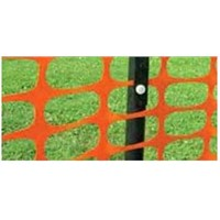 Blue Snow Fencing Barrier