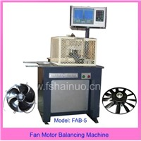fan motor balancing machine