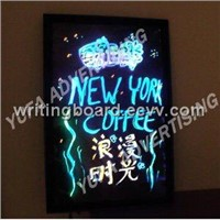Fluorescent Writingboard