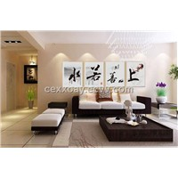 Frameless Painting for Chinese Elements